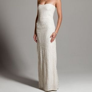 Limited Edition Nicole Miller Beaded Gown